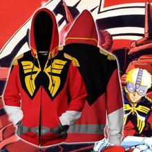 Anime Costume Mobile Gundam récit Cosplay Costume GUNDAM vestes à capuche Cosplay 3D imprimé sweat-shirts à capuche adulte sport manteau