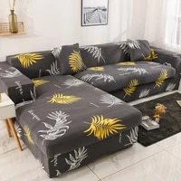 elastic corner sectional sofa cover anti stain four seasons universal slipcover living room couch cover l shape armchair cover