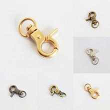 Diy Bag Parts Craft Small Lobster Retaining Ring Hook Dog Buckle Chain Ring Clamp Metal Luggage Hard