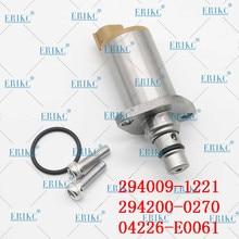 ERIKC 294009-1221 pompe haute pression soupape de commande daspiration 294200-0270 04226-E0061 soupape de dosage de carburant SCV pour Denso