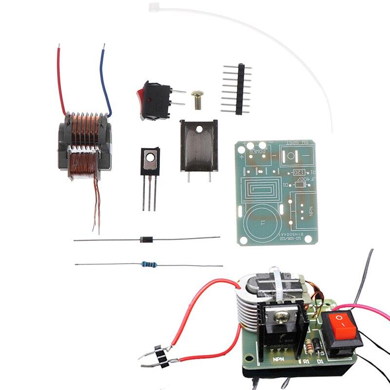 1 комплект 15KV трансформатор DC Высокое напряжение дуги инвертор зажигания Boost электронный комплект Модуль платы блока программного управлен...