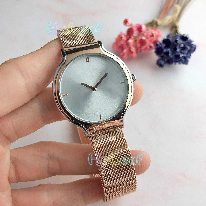Luxo reloj mujer venda quente mais novo topo senhora prata ouro aço marca urso relógio de quartzo feminino relógio montre femme relogio feminino