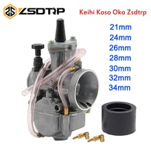 ZSDTRP-moto universelle 4T KOSO ZSDTRP KEIHIN OKO 24 26 28 30 32 34 mm   Carburateur de course, Power Jet Fit ATV Scooter UTV