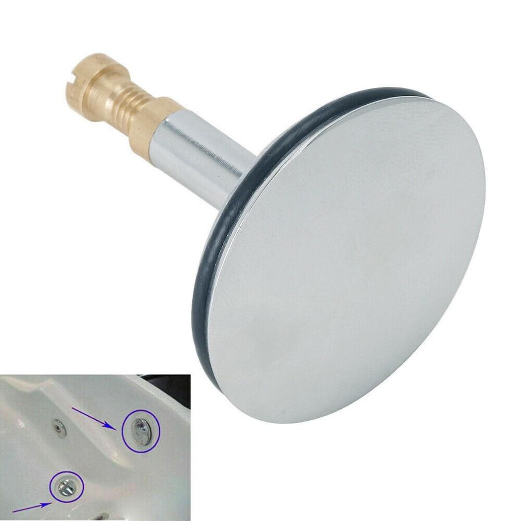 43 мм Выдвижная заглушка для ванны, сменная пробка для ванны, раковины, плоское уплотнение, слив для ванны, ситечко, стопор для слива ванны