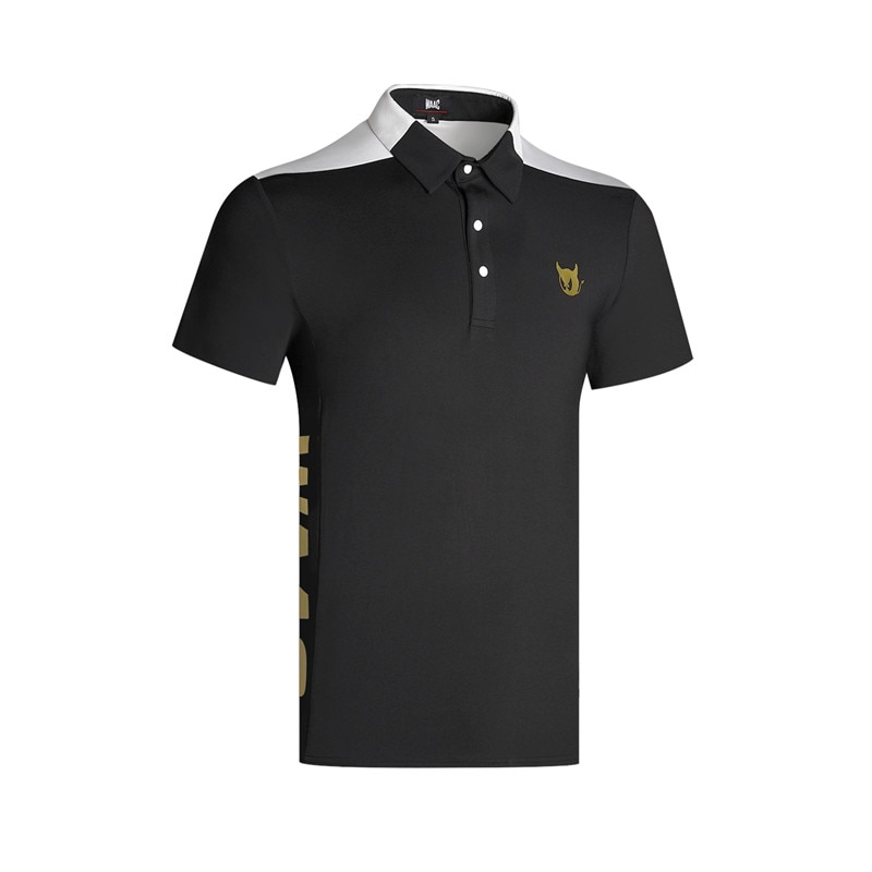 W Men's Sportswear Short Sleeve WAAC Golf Breathable T-Shirt Golf Clothes S-XXL Preferred Casual Golf Shirt Free Shipping