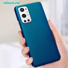 For OnePlus 9 Case Nillkin Super Frosted Shield Case Anti-fingerprint Hard Back Protection Shell For