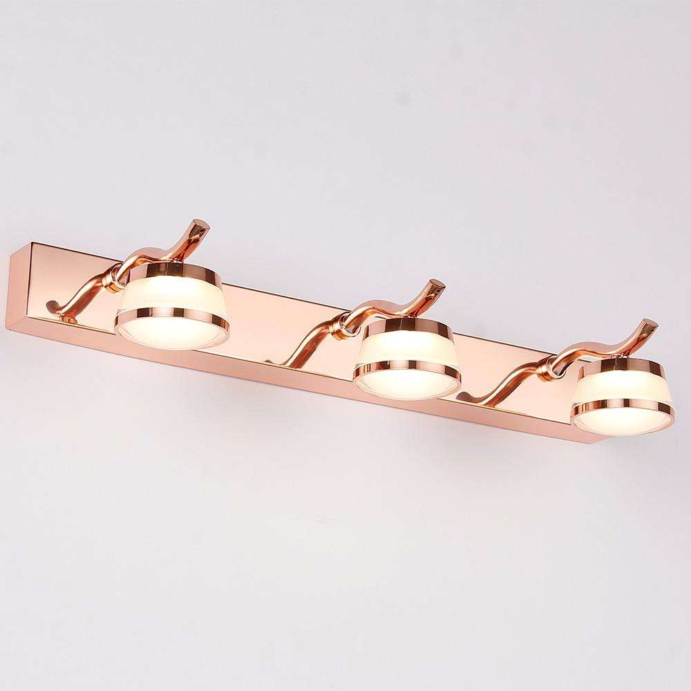Hartisan كريستال الغرور ضوء مرآة LED مقاوم للماء الحمام الجدار الخفيفة الحديثة البتلة ديكور لطاولة خلع الملابس مرآة لوضع المكياج