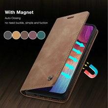 CaseMe Retro Flip A51 A42 A41 A21S A31 Case For Samsung Note 20 S20 S21 Ultra S10 Plus A10 A20 M31 A
