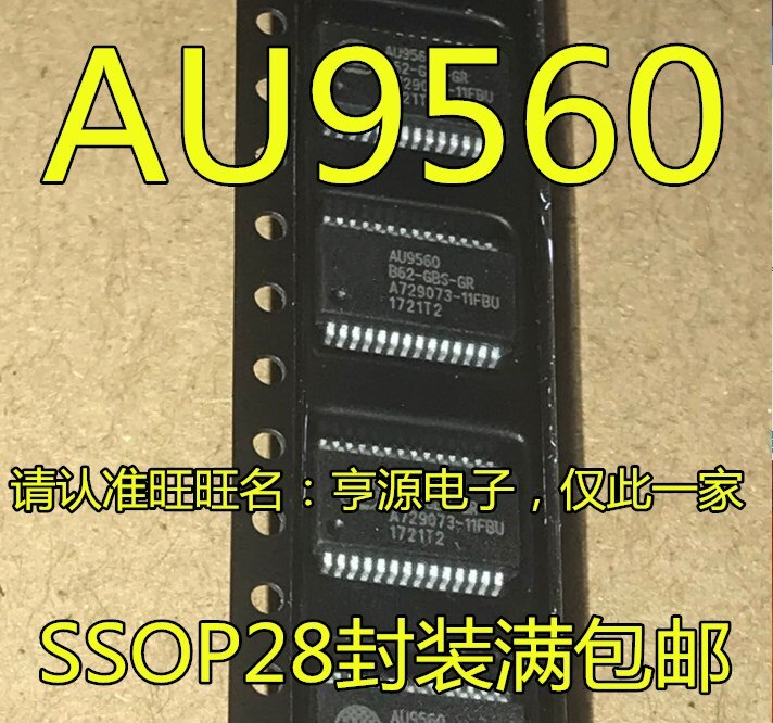 AU9560 AU9560B62-GBS-GR SSOP28