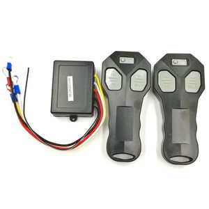 Universal Car Wireless Winch Remote Control With Twin Handset Two Matched Transmitters