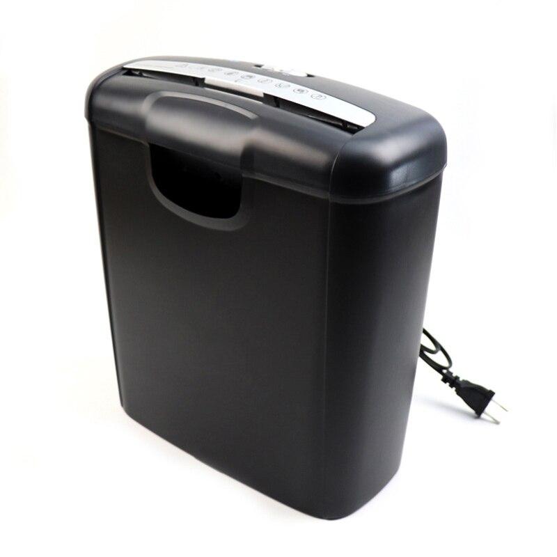 آلة تقطيع الورق المكتبي المنزلية الكهربائية كتم التقطيع آلة تقطيع الورق المنزلية الصغيرة A6 A4 قابلة للطي للمكتب H