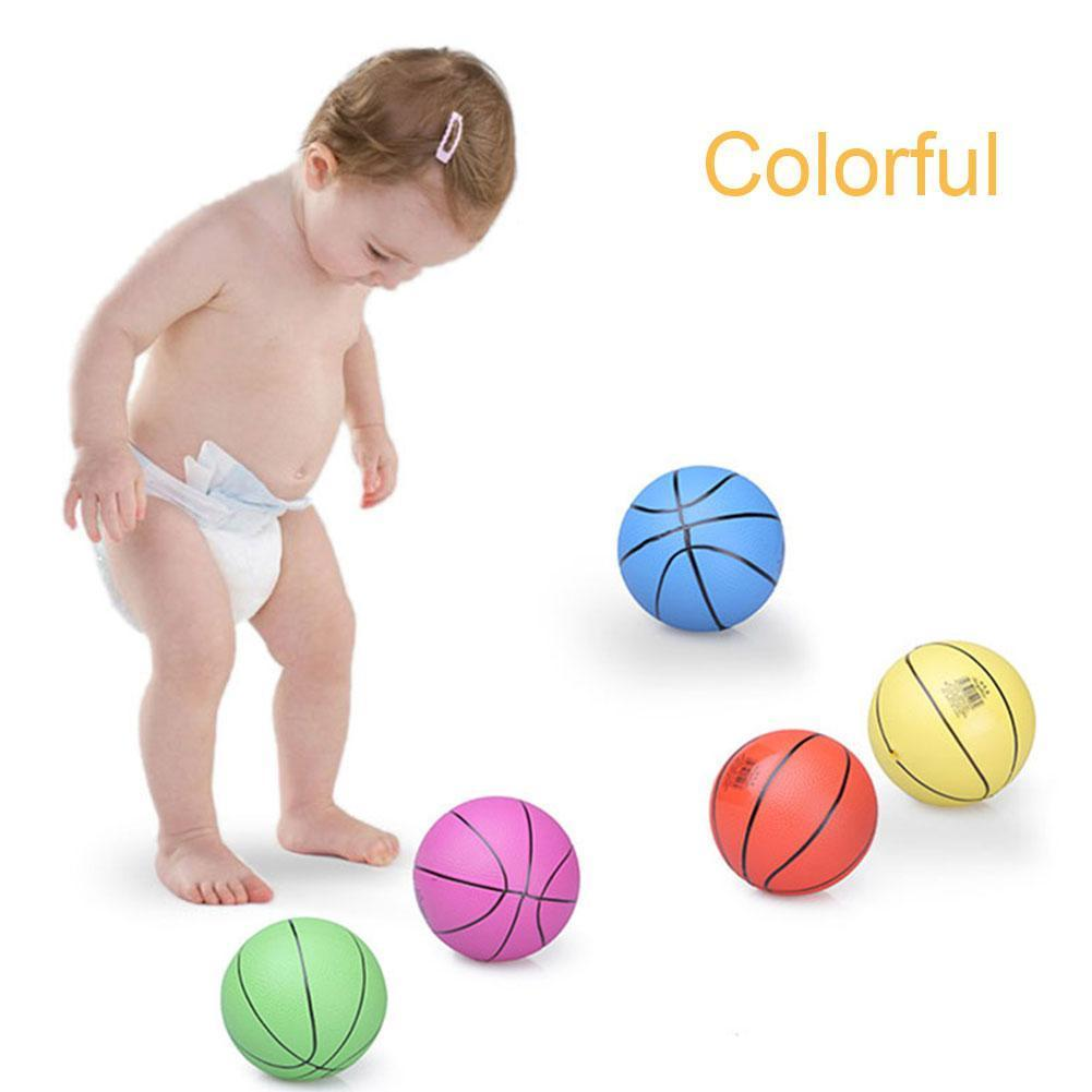 10/22 см ластик-мини баскетбольный мяч Крытый развлечения детей играть в игры в баскетбол Высокое качество мягкий резиновый мяч игрушка для д...