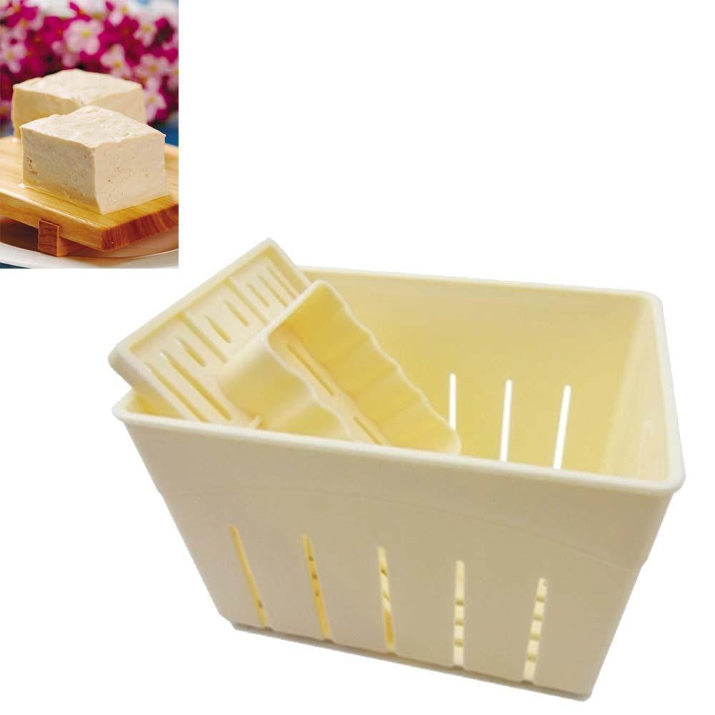 DIY тофу пресс для домашнего тофу машина тофу пресс-форма набор ткань формочки для сыра тофу кухонные инструменты формы