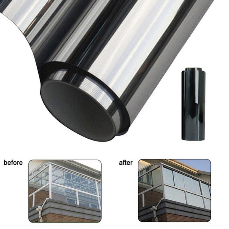 Película de ventana, Control Solar, películas Wiondow, protector solar, aislamiento de vidrio, pegatinas de películas, remolque lateral, Coppery, escudo Solar de color