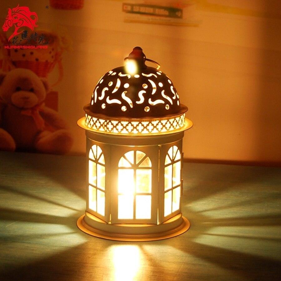 Mercury-portavelas de cristal para Navidad, soporte de vela colgante, nórdico, II50ZT