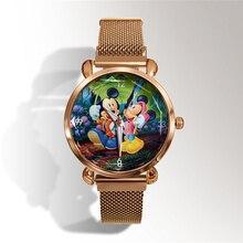 Reloj mujer haut de gamme de luxe zegarek damski mickey minnie femmes montres orologio donna dames montre femmes montre relogio feminino