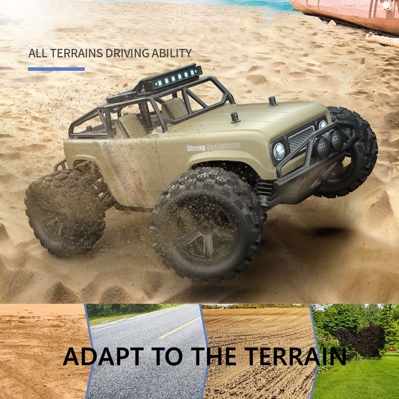 JTY Toys RC Truck 40km/h High Speed 4WD Remote Control Off-Road Trucks Bigfoot Crawler Rock Climbing Car For Children Adults enlarge
