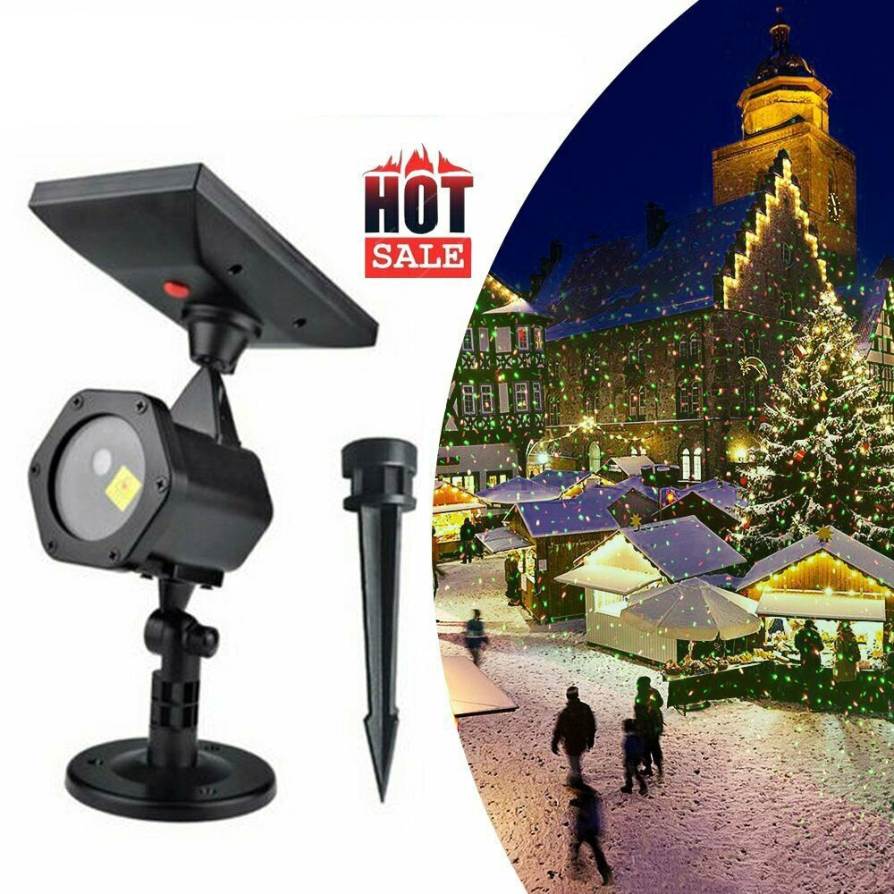 Moving Full Sky Star Laser Projector Landscape Lighting Christmas Party LED Stage Light Outdoor Waterproof Solar Lawn Lights new mini snowfall projector christmas lights outdoor projector ip65 moving head laser snow led stage light for xmas party lights