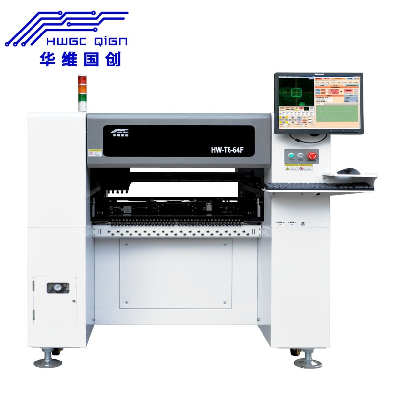 Máquina de PCB automática de promoción con 0201,0402,0603,0805,1206, diodo, SOT, máquina de recogida y colocación QFP