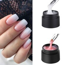 MSHARE Baby Boomer Ombre Nails UV Builder Gel Babyboomers Nail Camouflage Quick Extension Gel  Exten