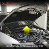Crochet de choc hydraulique pour Nissan X-TRAIL T32/Rogue 2014-2018 ensemble de crochets de capot avant support de tige avant pour voiture
