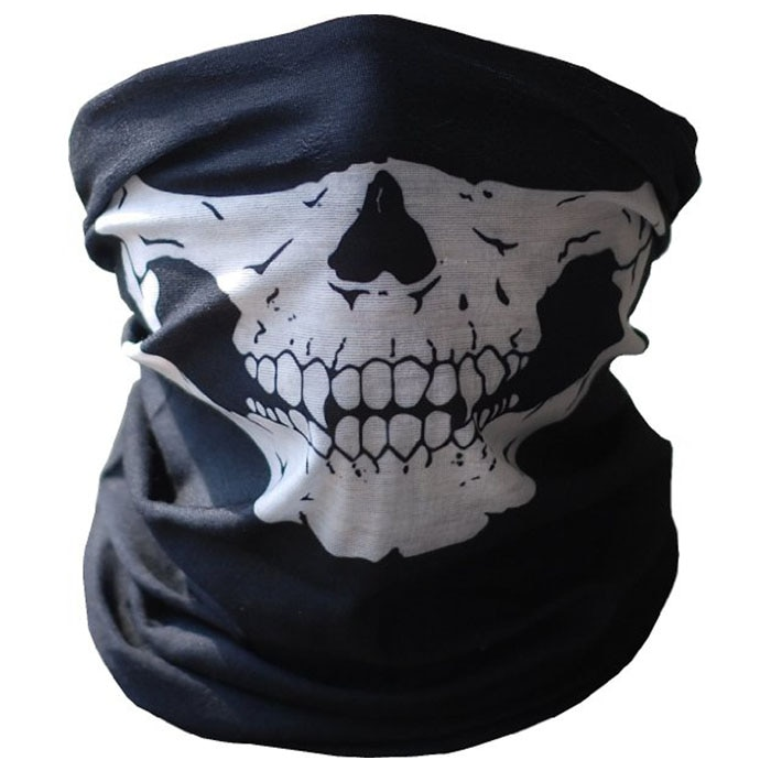 Cycling Outdoor Skull Seamless Balaclava Magic Scarf Men Women Sun Protection Bandana Neck Gaiters R