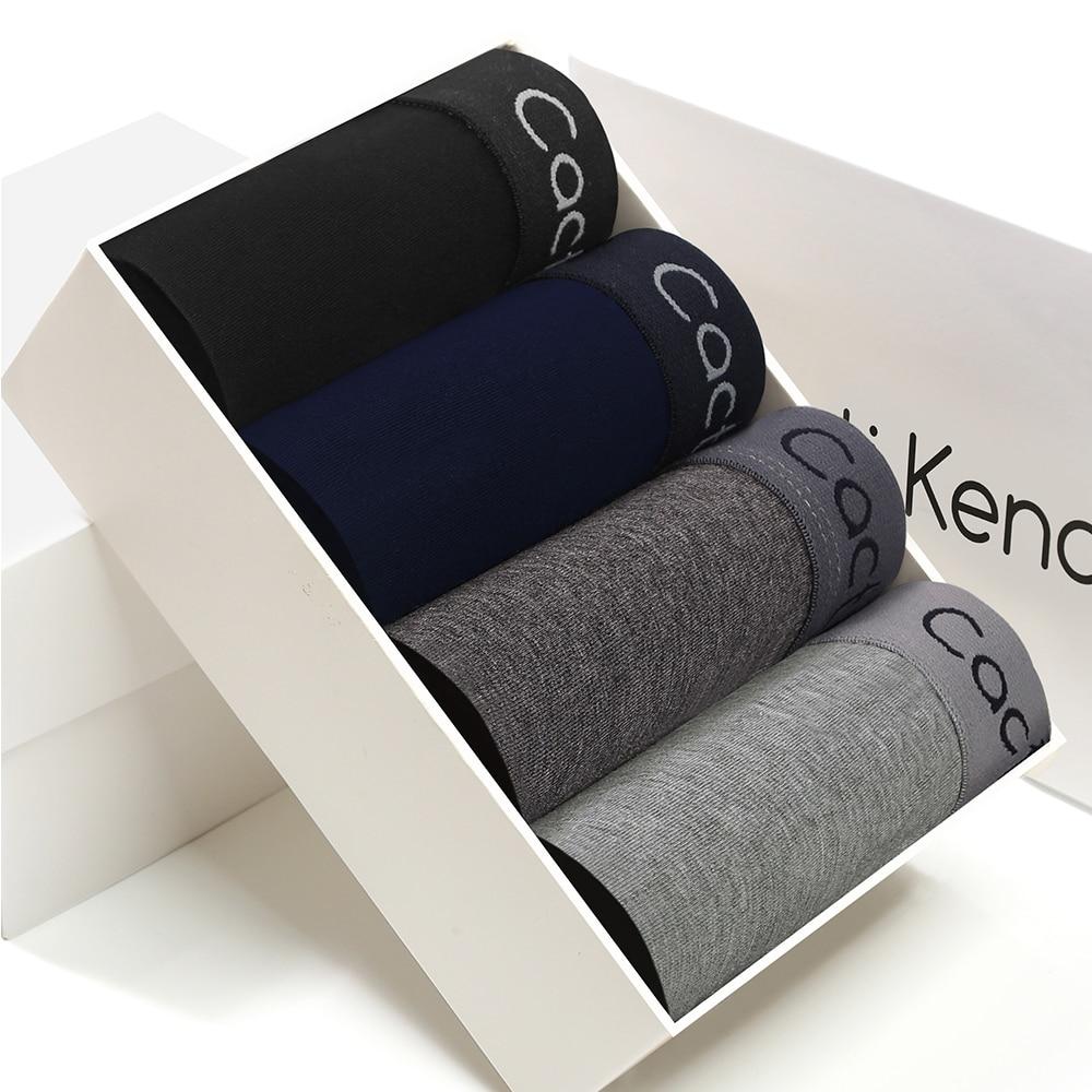 AliExpress - Mens 4PcsLot Hot Sale Men's Underwear Boxers Cotton Boxer Shorts Male Panties Breathable Underpants