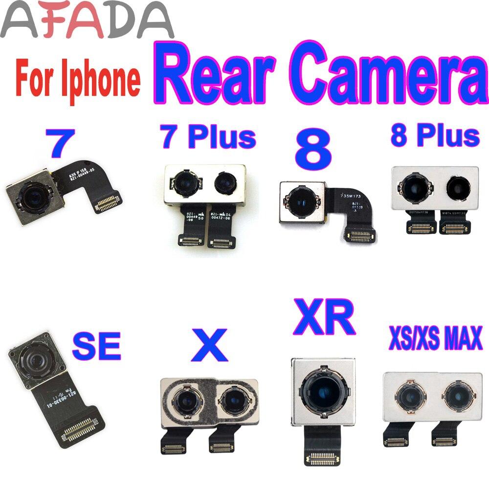AAA + cámara trasera para Iphone 7 Plus 8 Plus SE X MAX XR XS MAX 11 con módulo de Flash Sensor Flex Cable al por mayor Dropshipping. Exclusivo.