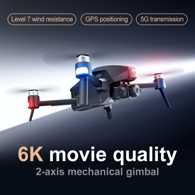 2021 M1 Pro 2 drone 4k HD mechanical 2-Axis gimbal camera 5G wifi 4