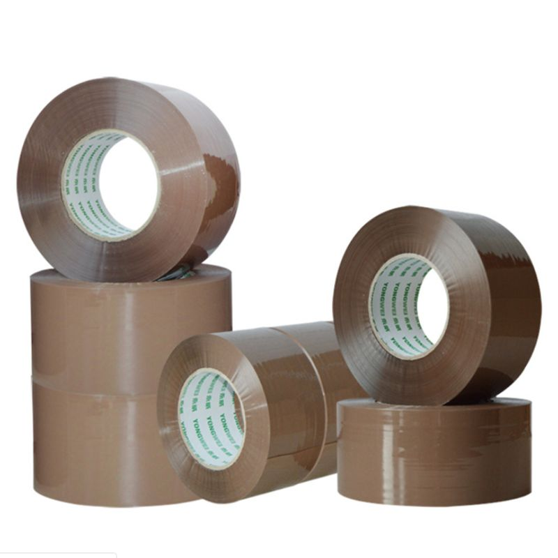 Strong Heavy-Duty Industrial Shipping Box Packaging Tape for Moving, Office, Storage No noise 45mm x