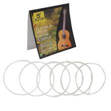 Высокое качество SC12 Классическая нейлоновые струны для гитары 6 шт./компл. серебрение супер светильник гитарные струны для классической акустической гитары