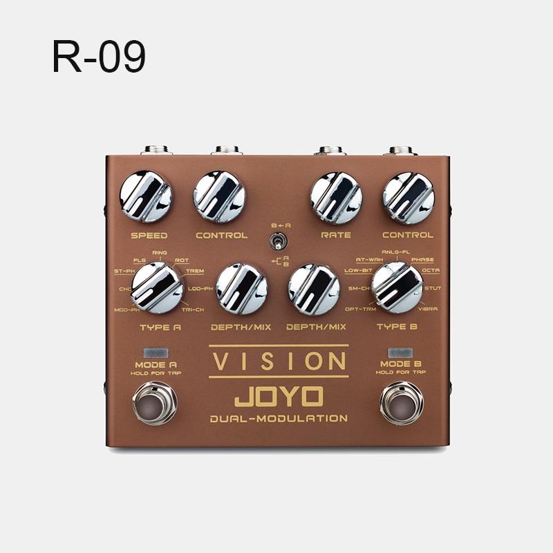 Vision Mini Effects Modulate Peripheral Electric Guitar Effects Guitar Effects JOYO R09 enlarge
