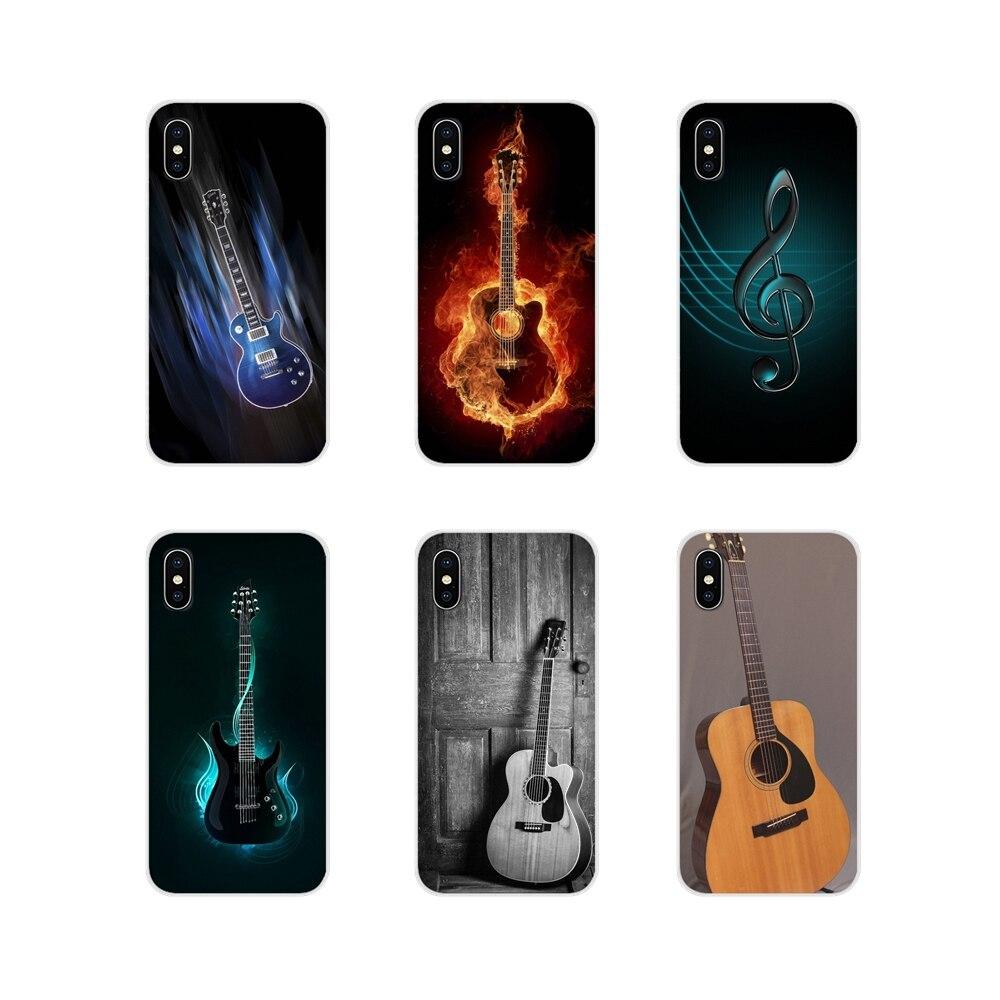 Аксессуары чехлы для телефонов Чехлы для samsung A10 A30 A40 A50 A60 A70 Galaxy S2 Note 2 3 Grand Core Prime Love гитара gibson Music