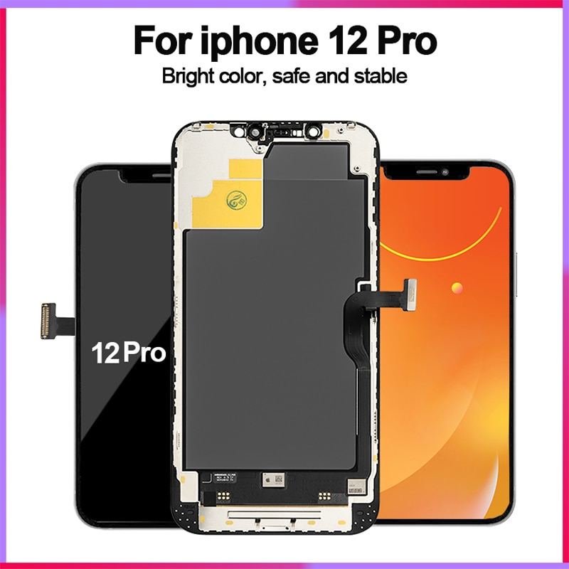 Review OEM Quality Pantalla OLED LCD Display For iPhone X XS 11 Pro LCD Display Touch Screen Digitizer Assembly For iPhoneX 11 XSMax 12