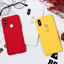 Candy Color Matte Cover For Xiaomi Redmi Note 8 7 5A 5 6 K20 Pro 7A 6A S2 Plus Mi A3 A1 A2 CC9 CC9e 9T 8 Lite 9 SE F1 TPU Case