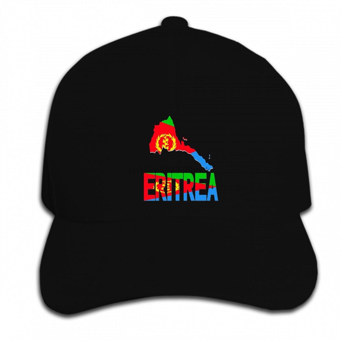 Print Custom Baseball Cap Hip Hop Funny men novelty women Eritrea map Eritrean flag Africa Hat Peaked cap