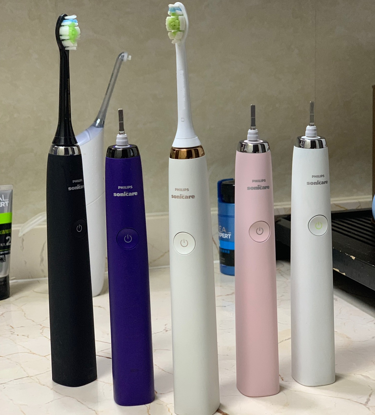 Philips Electric Toothbrush Sonicare Diamond series Sonic Waterproof 5 Modes HX9340 Upgrade 4th Generation HX939 Handle enlarge