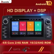 Lecteur DVD de voiture 8 cœurs RAM 4 go ROM 64 go Android 10 pour Toyota Corolla E120 BYD F3 2003 multimédia DVD Radio GPS Navigation OBD DVR