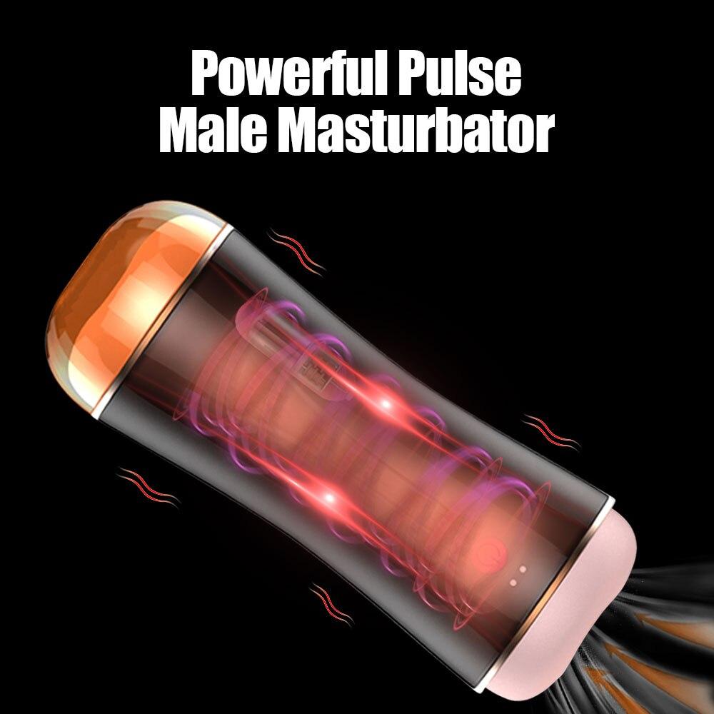 18 + كبير كس ذكر جهاز استمناء تهتز تمتص آلة ذكر الاستمناء محاكاة المهبل منتجات الكبار الجنس لعب للرجال