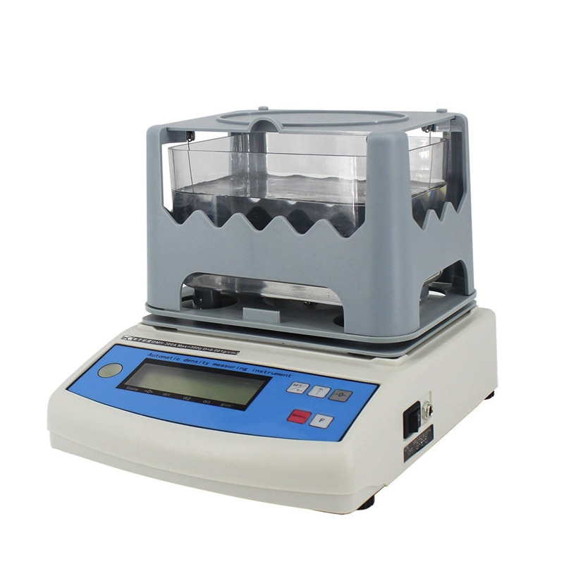 600g/0.01g 0.001g/cm3 Soild مادة الكثافة متر المطاط البلاستيك السيراميك إسفنجة من الكلوريد متعدد الفينيل روك الكثافة الإلكترونية Densitmeter