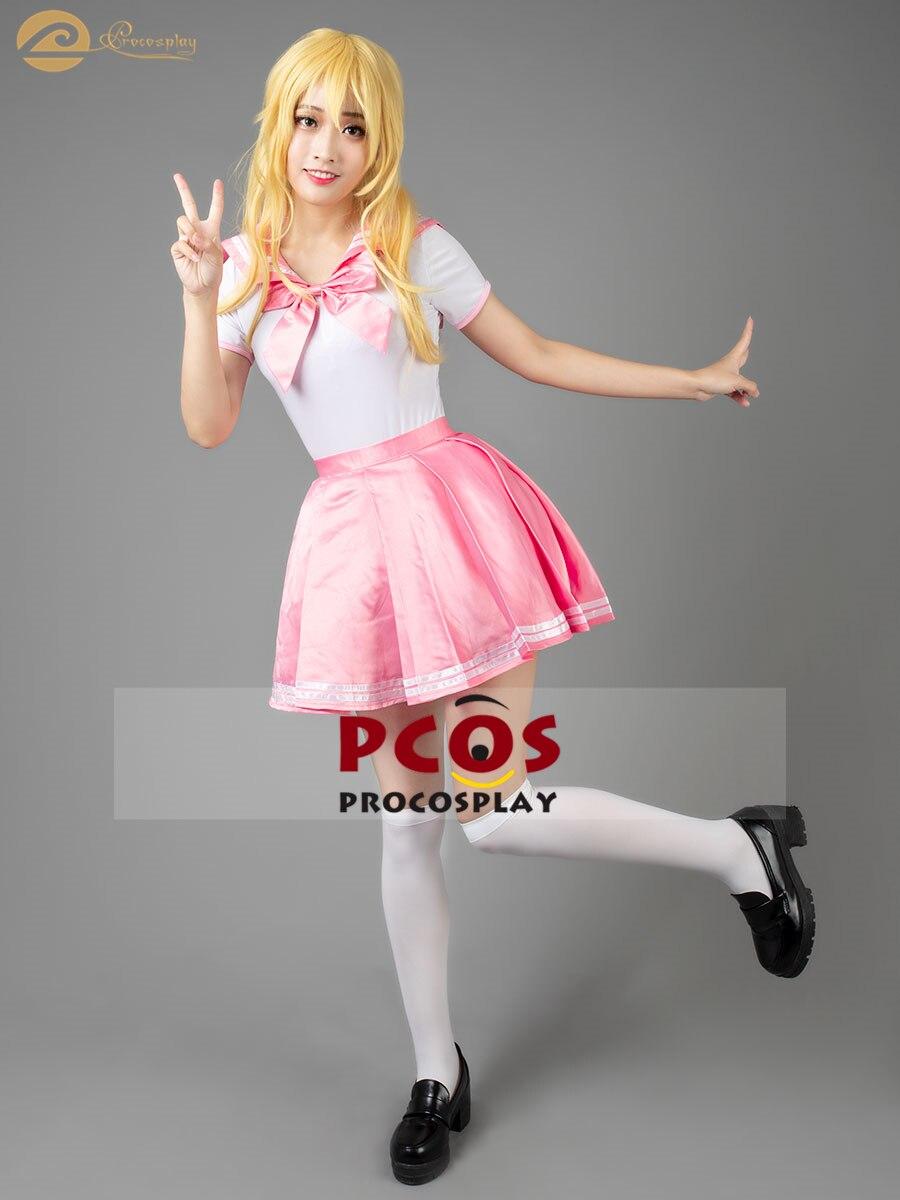 En Stock, uniforme pequeño de verano para mujer, Sailor Moon Chibiusa Tsukino Usagi Sailor Chibi Moon, disfraz de cosplay mp004262