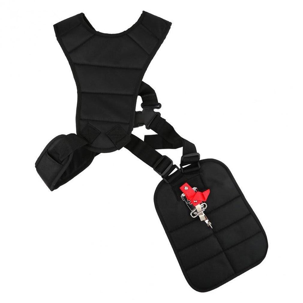 Universal Double Shoulder Padded Belt Adjustable Harness Strap Professional For Brush Durable Cutter