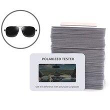 Sunglasses Polarised Test Card for Mens Ladies  Kids T3EC