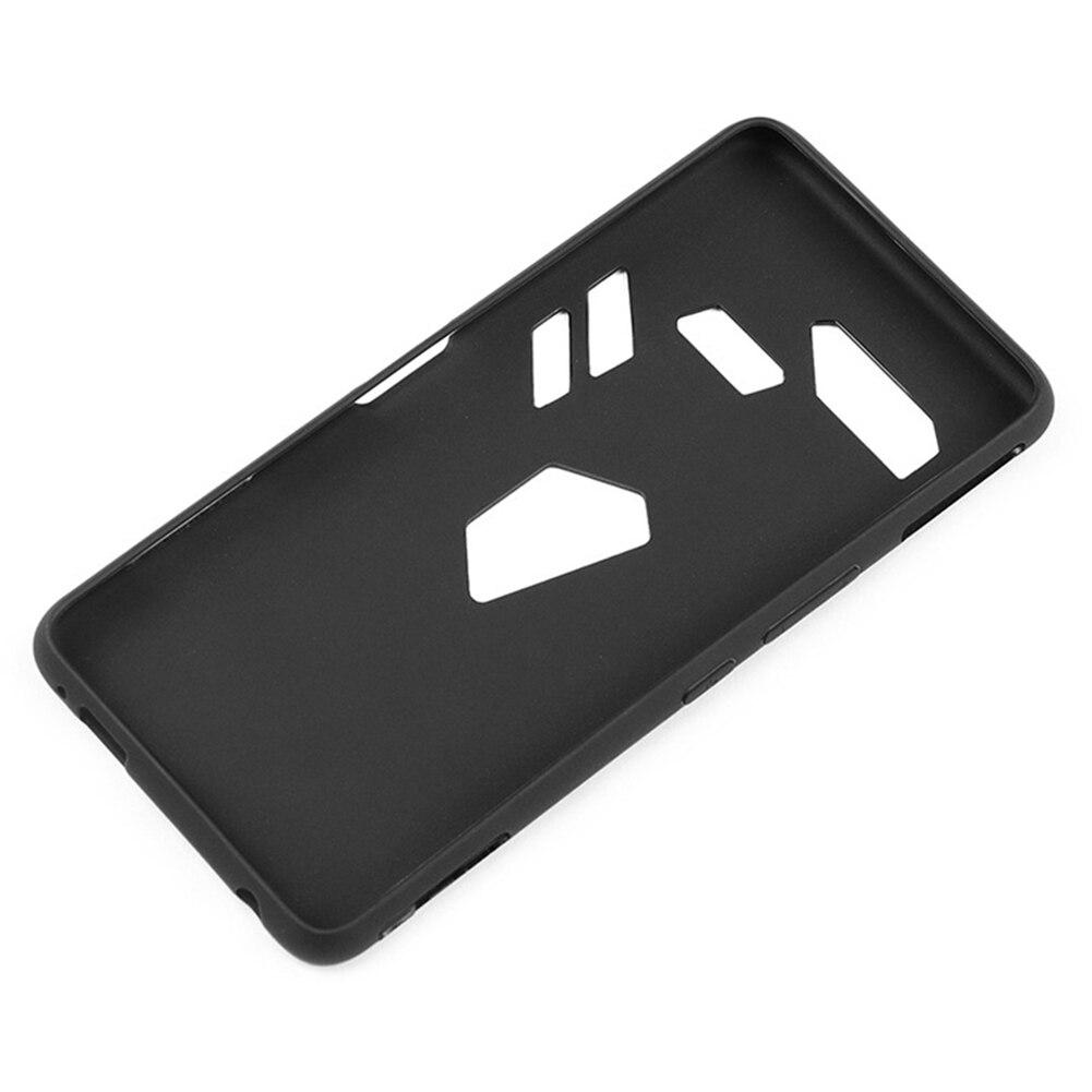 Funda de teléfono móvil TPU a prueba de polvo cubierta protectora de alta sensibilidad para ASUS ROG Teléfono de juegos