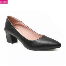 Chaussures de travail femme noir professionnel talons hauts talons épais etiquette travail hôtesse de lair chaussures entretien formel costume chaussures femmes