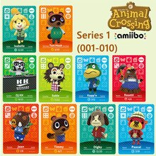 Animal Crossing Amibo Animal Crossing club amiibo karte SN3DS erhältlich schalter Sen karte karte villager RV karte 10PCS 001-010