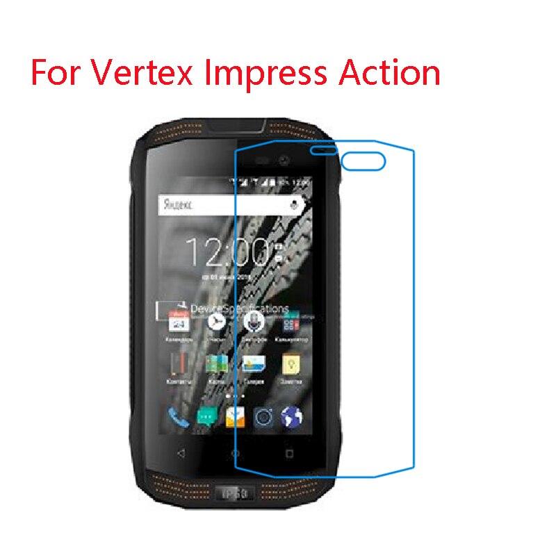 (Lot de 3) 9H flexible protecteur décran en verre Pour vertex Impressionner, Dune, Aigle, Facile, Eclipse, Eno, Événement, Feu, Flash,