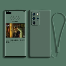 LPC Liquid Silicone Case For Huawei  P40 P30 P20 Lite Pro protector Camera Case For Huawei Mate 20 3
