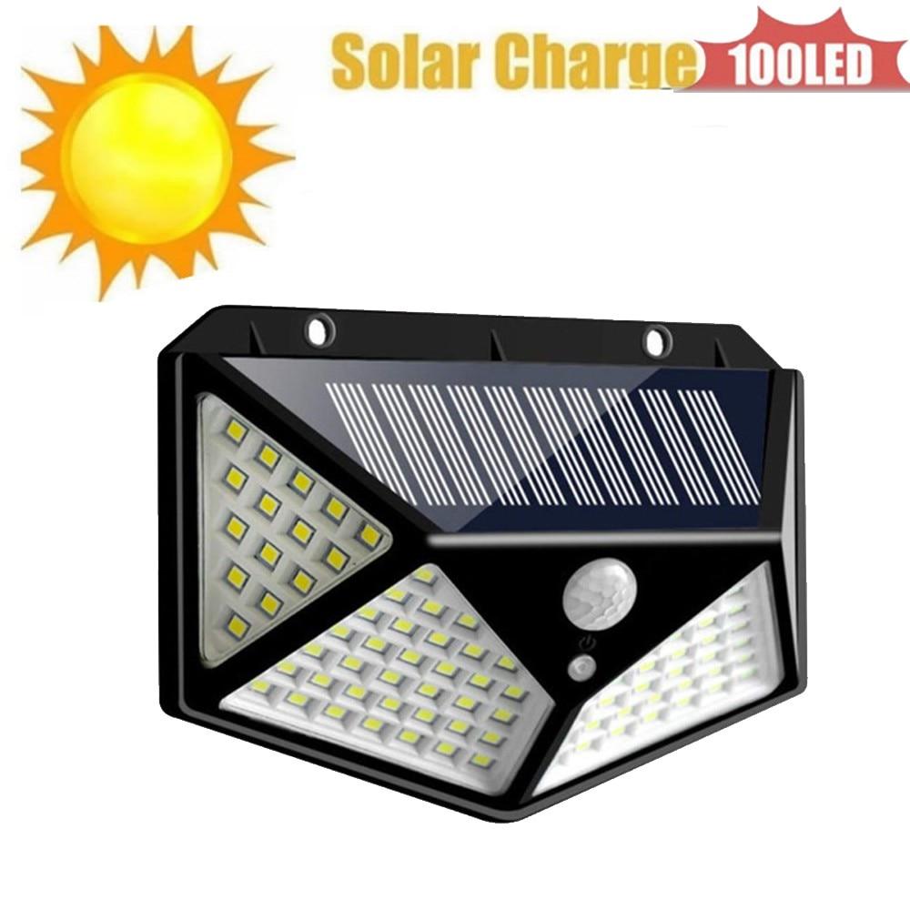 Portable Solar Light Solar Powered Energy Lamp 100 LED Bulb for Outdoors Camping Light Tent Solar Lamp 4 sided 270°lighting scop