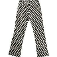 plaid cropped micro trousers womens thin section 2021 new high waist slimming fashion printed casual pants wide leg pants